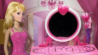 Barbie Glam Vanity Furniture Set - Mattel - X7936 X7940