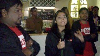 YouTube Employee and Smile Settai RJ Vignesh at YouTube Happy hour Chennai