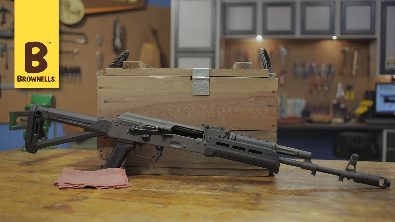 Magpul AK-47 MOE Stock and Handguard - YouTube