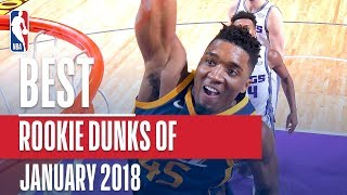 Best NBA Rookie Dunks | January 2018