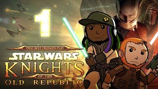 super best friends play star wars knights of the old republic part 1