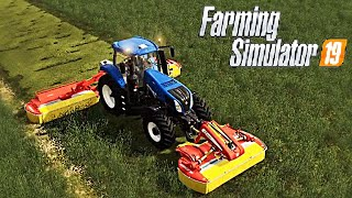 #38 - CON ROBY A FALCIARE ERBA -  FARMING SIMULATOR 19 ITA RUSTIC ACRES
