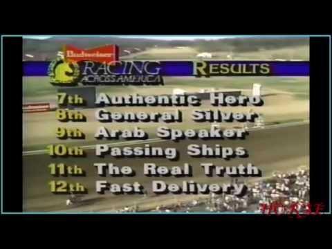 1987 Alabama Derby   ESPN Broadcast