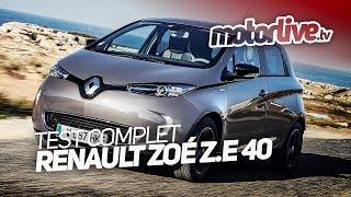 RENAULT ZOE Z.E 40 - 2017 (400 km) | TEST AUTO