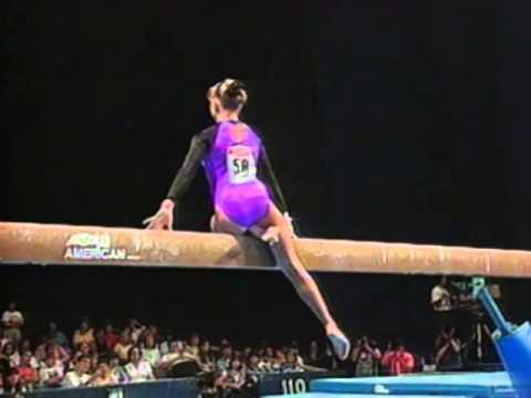 Shannon Miller Balance Beam 1995 U S Gymnastics