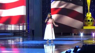 CMN Hospitals Miracle Kid Sings National Anthem at Miss America
