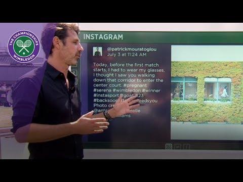 Wimbledon 2017 - Patrick Mouratoglou talks about Serena Williams