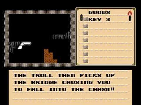 All deaths in Shadowgate (NES)