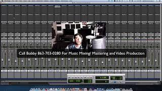 Live Mixing Tutorial RnB Soul Session EQ Teqniques