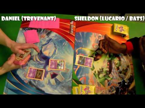 Pokémon TCG - BREAKPoint Legal (!) Cities: Top 8: Trevenant vs Lucario Bats