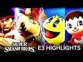 Super Smash Bros Ultimate Invitational at E3 Highlights (Spoilers!)