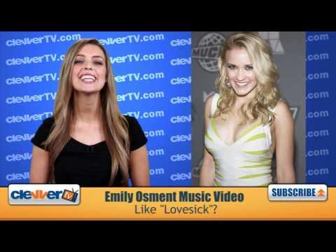 """Emily Osment """"Lovesick"""" Music Video Recap"""