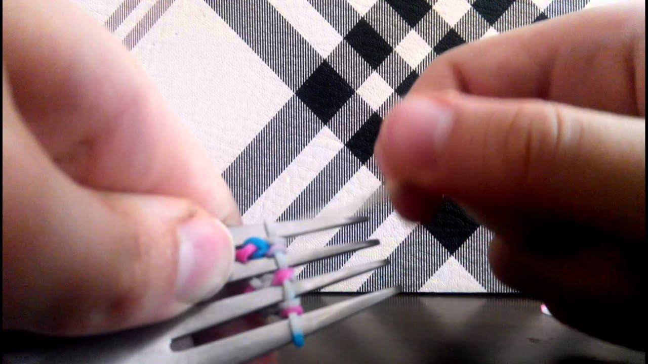 Плетение браслетов урок 2
