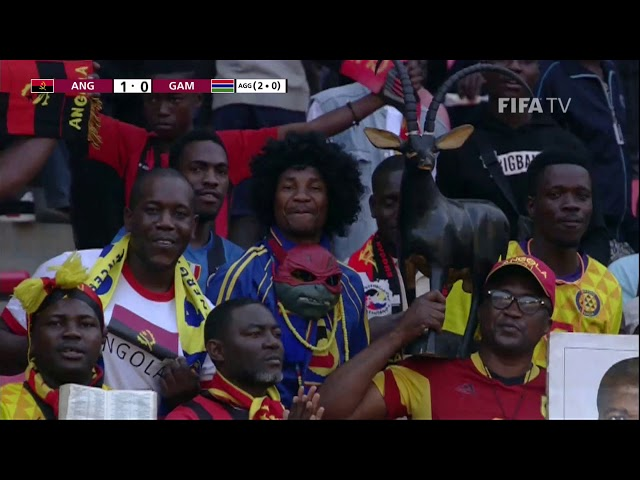 Angola v Gambia - FIFA World Cup Qatar 2022™ qualifier