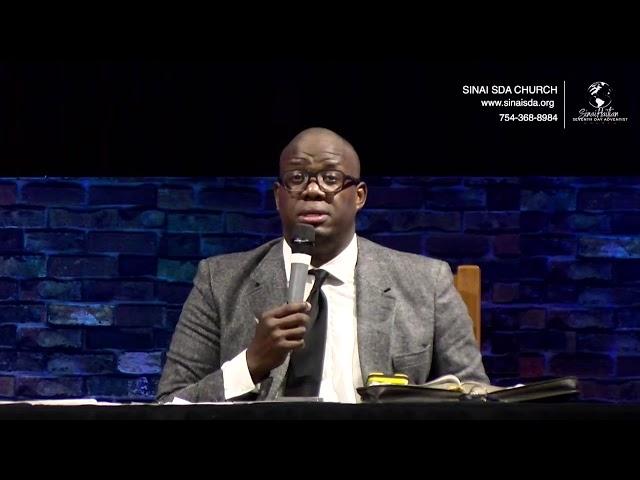 Sévis Vendredi Swa   Révision de la leçon   09.10.2021   Sinai SDA Church