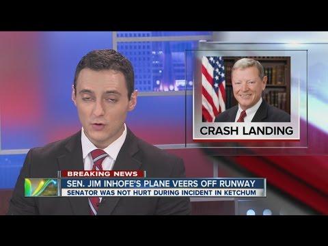 Senator JIm Inhofe avoids plane crash near Grand Lake