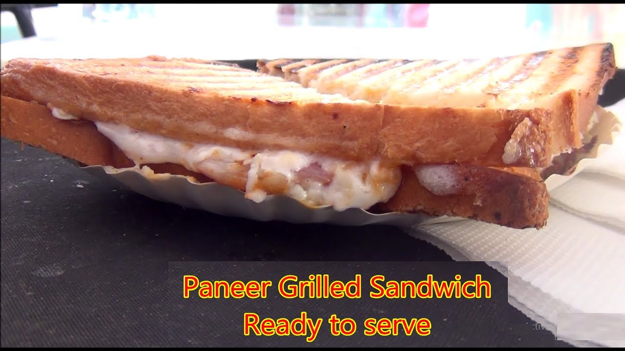 How to make paneer sandwich with mayonnaise