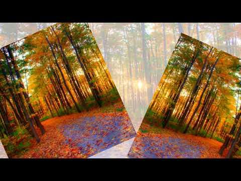 PowerPoint presentation/Autumn Creation of God/Beautiful piano music