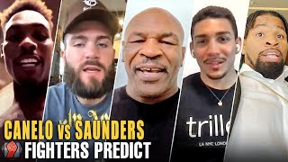 PRO FIGHTERS PREDICT- CANELO ALVAREZ VS BILLY JOE SAUNDERS