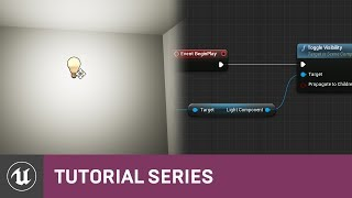 Intro to Blueprints: Turning on a Light via the Level BP | 02 | v4.8 Tutorial Series | Unreal Engine
