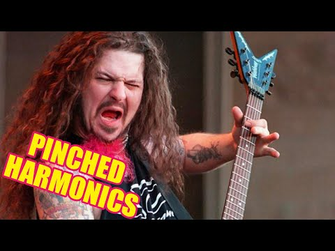 The Top 8 Metal Guitar Pinched Harmonic Riffs That You Should Learn