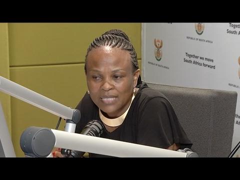 Interview with Public Protector Adv Busisiwe Mkhwebane