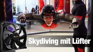 Indoor Skydiving mit Silent Wings 3