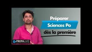 Préparer Sciences Po dès la première
