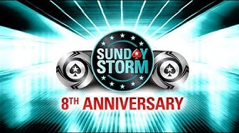 $11 Sunday Storm 8th Anniversary - Final Table Replay
