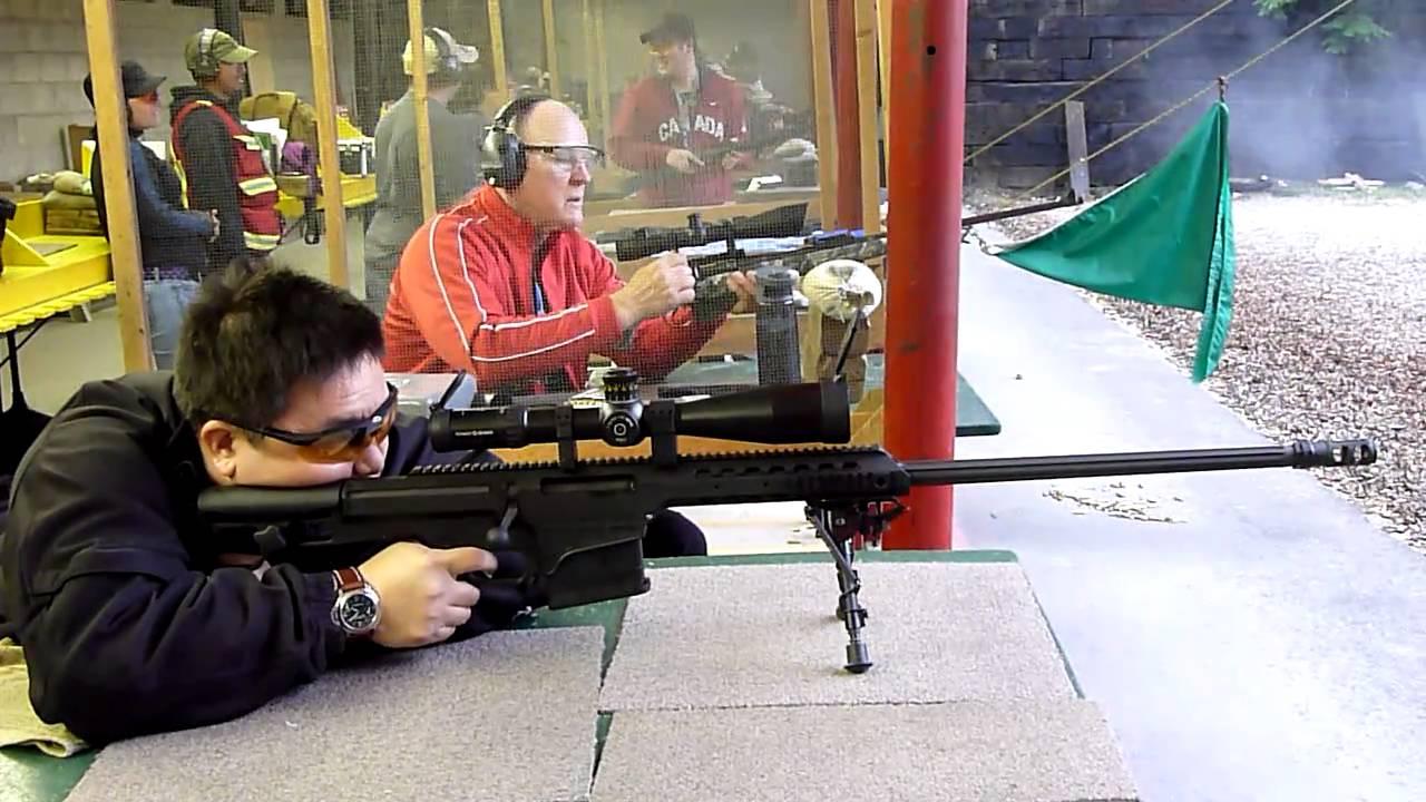 Barrett 98b 338 Lapua Rifle Youtube