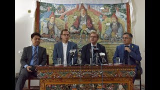 Press Conference by EU Parliamentary Delegation