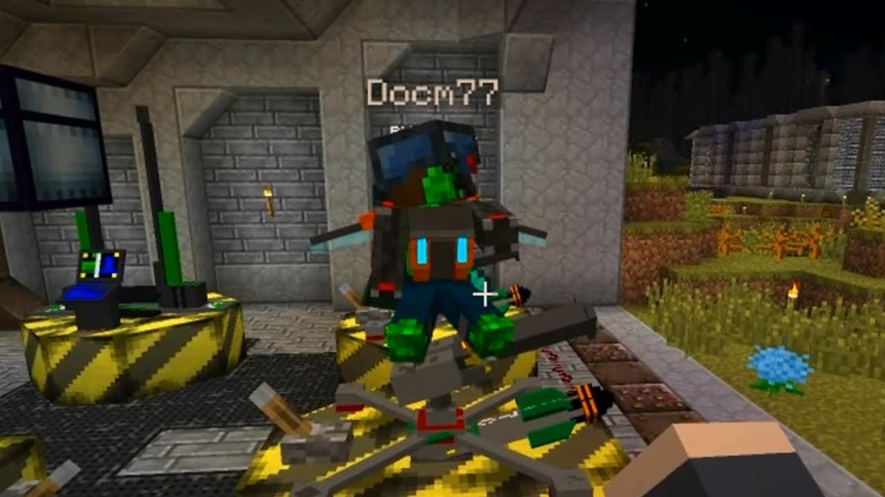 Minecraft CrackPack 7 Code Red Tunnels YouTube