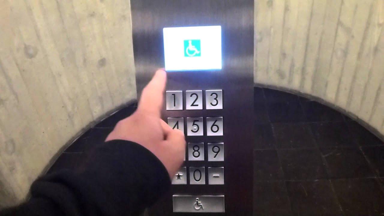 More Schindler Eurolift With Miconic 10 Destination Dispach Traction Elevators Sodermalmsallen 36 Youtube