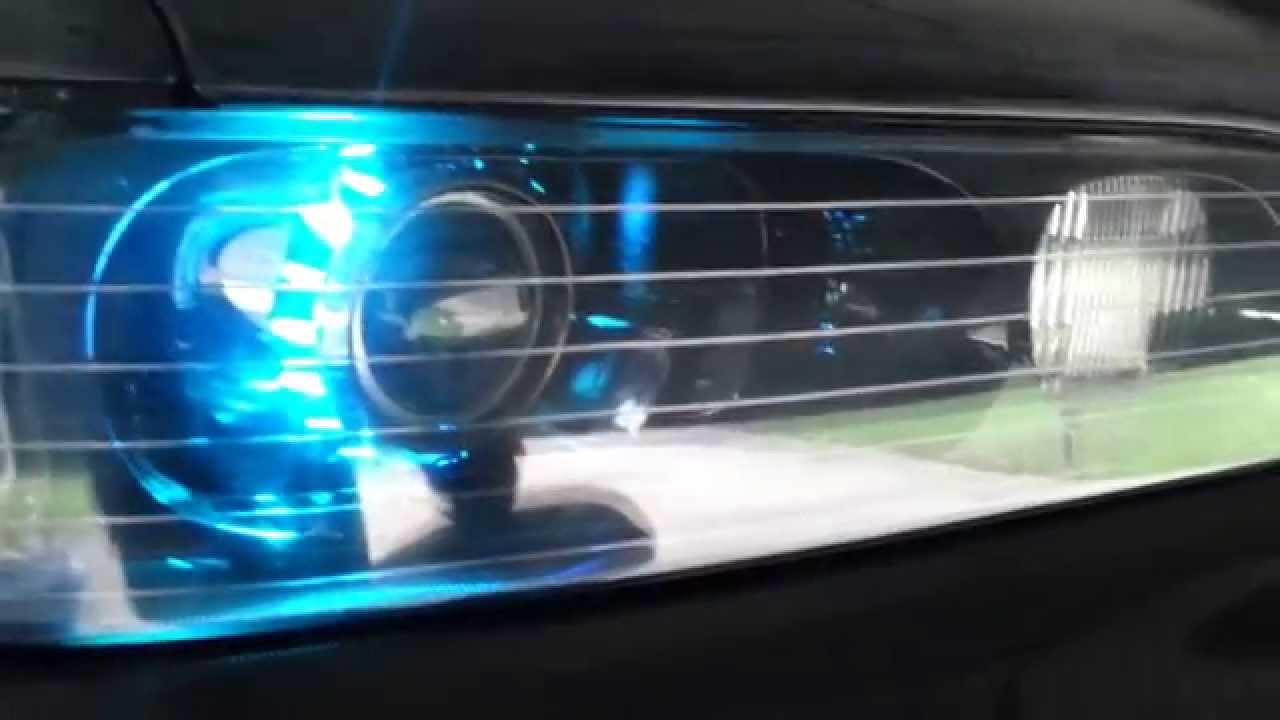 1994 Acura Legend Headlights Wiring Diagrams 94 Lights Diagram Custom Coupe Jdm Headlight Projector Retrofit Youtube Brow