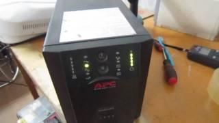 Обзор замены АКБ в ИБП APC Smart UPS 1500