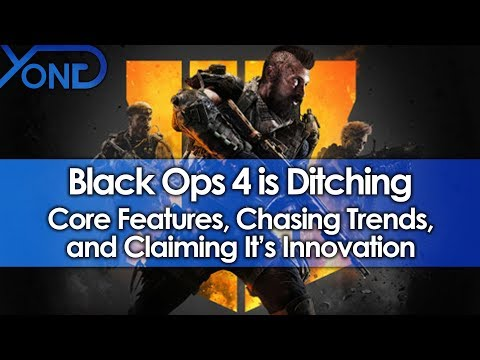 Black Ops 4 is Ditching Core Features, Chasing Trends, and Claiming It's Innovation