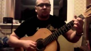 Зеленые Рукава на гитаре. Старинная англиская песня