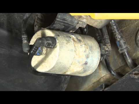 ECS Tuning: How to change the fuel filter on an Audi B6 A4 1.8T.