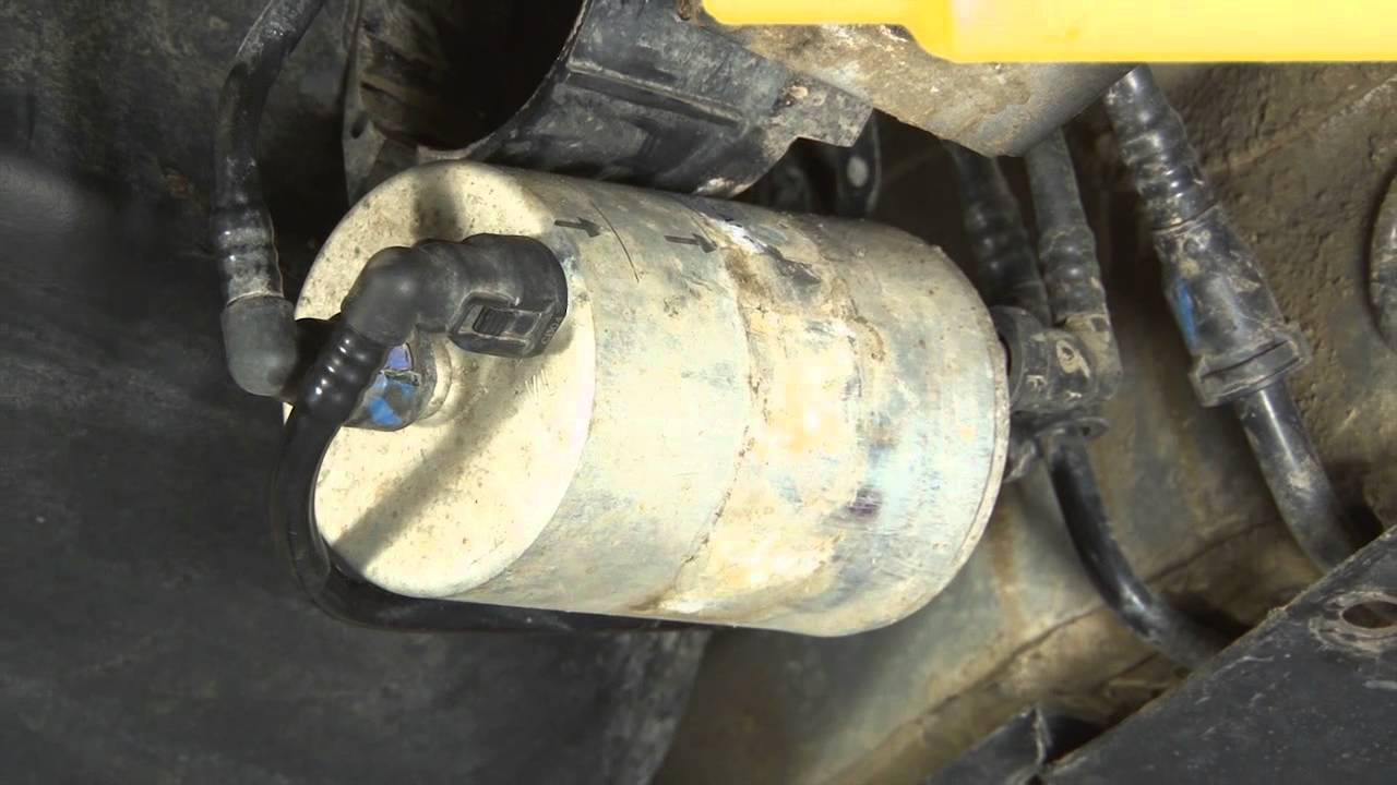 ECS Tuning: How to change the fuel filter on an Audi B6 A4 1.8T. - YouTubeYouTube