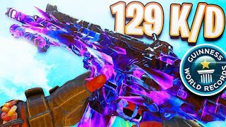 WORLD RECORD 129-0 GAMEPLAY in Black Ops 4! (WORLDS HIGHEST KD)