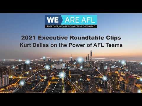 Kurt talking Power of AFL Teams - WeAreAFL