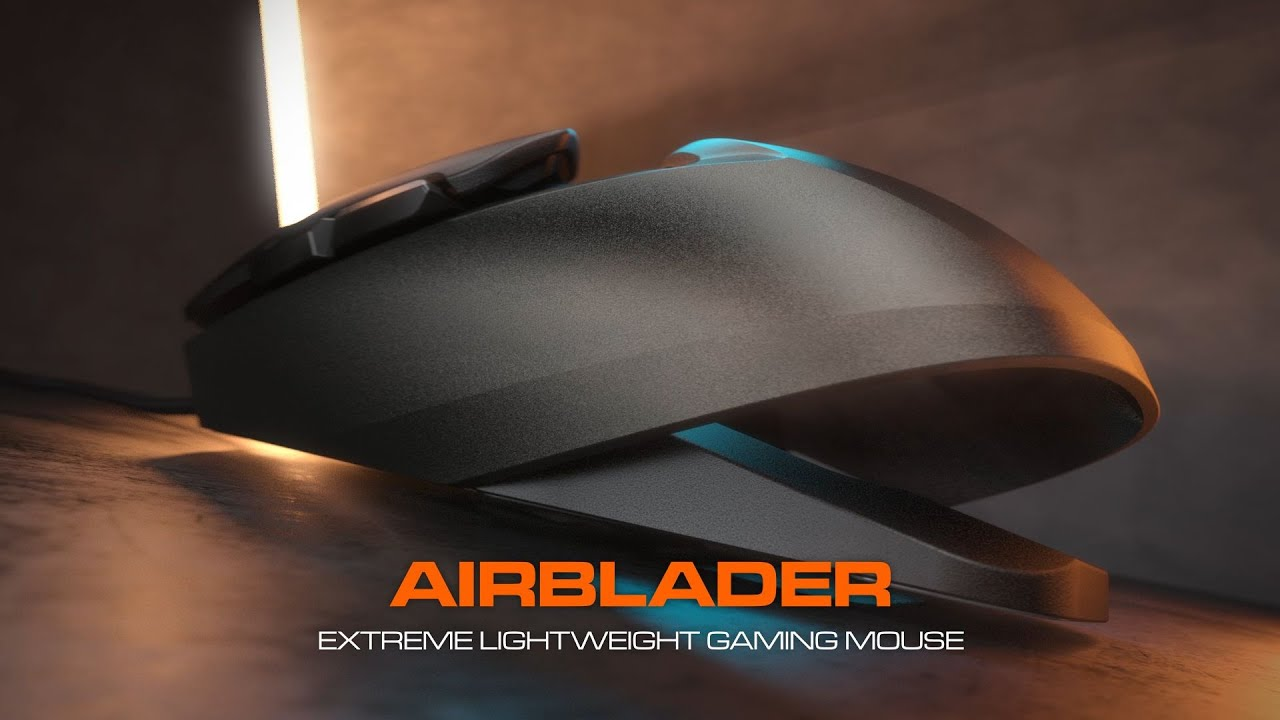 AirBlader - Extreme Lightweight Gaming Mouse