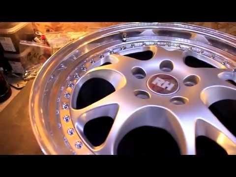 Реставрация дисков в Автомастерской RomanMers