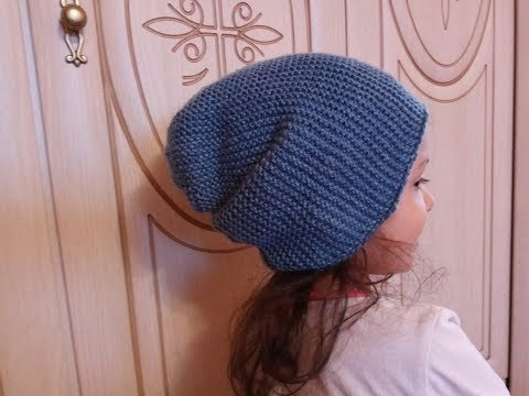 Как связать шапку для начинающих