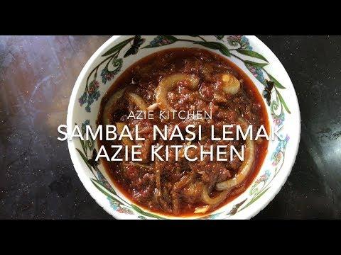 Sambal Nasi Lemak Azie Kitchen