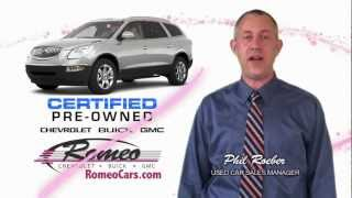 Romeo Chevrolet Buick GMC - Pre-Owned