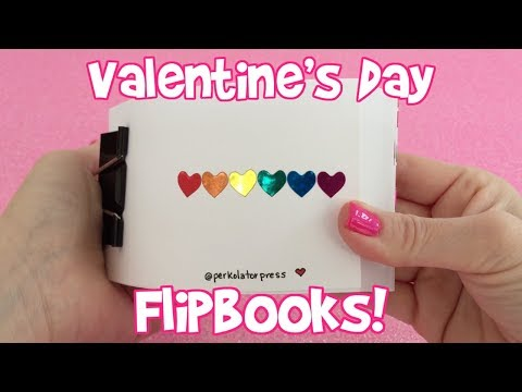 Valentine's Day FLIPBOOK compilation! (5 years of valentine flipbooks)