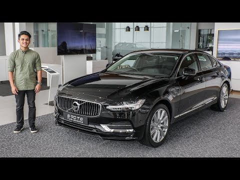 FIRST LOOK: Volvo S90 T8 plug-in hybrid in Malaysia – RM369k