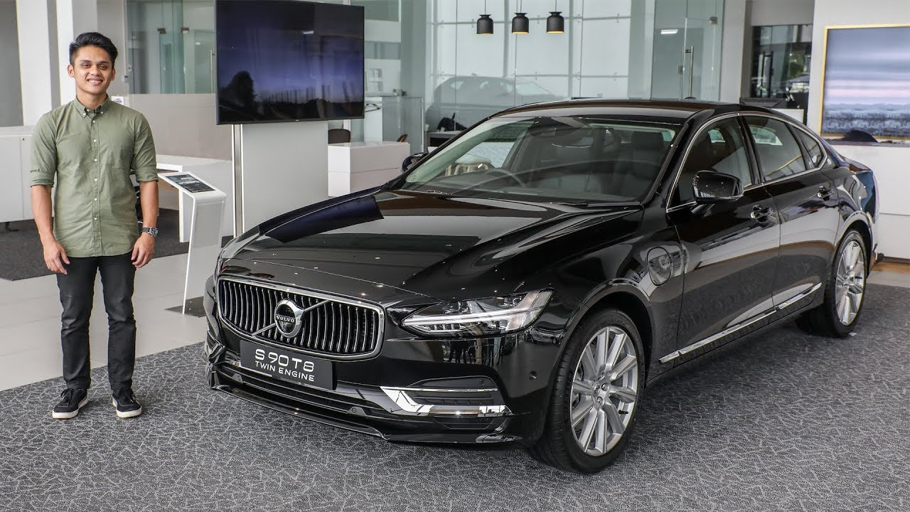 first look volvo s90 t8 plug in hybrid in malaysia. Black Bedroom Furniture Sets. Home Design Ideas