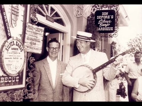 The HitchHiking Hosts  101: Don DeFore's Silver Banjo Barbecue